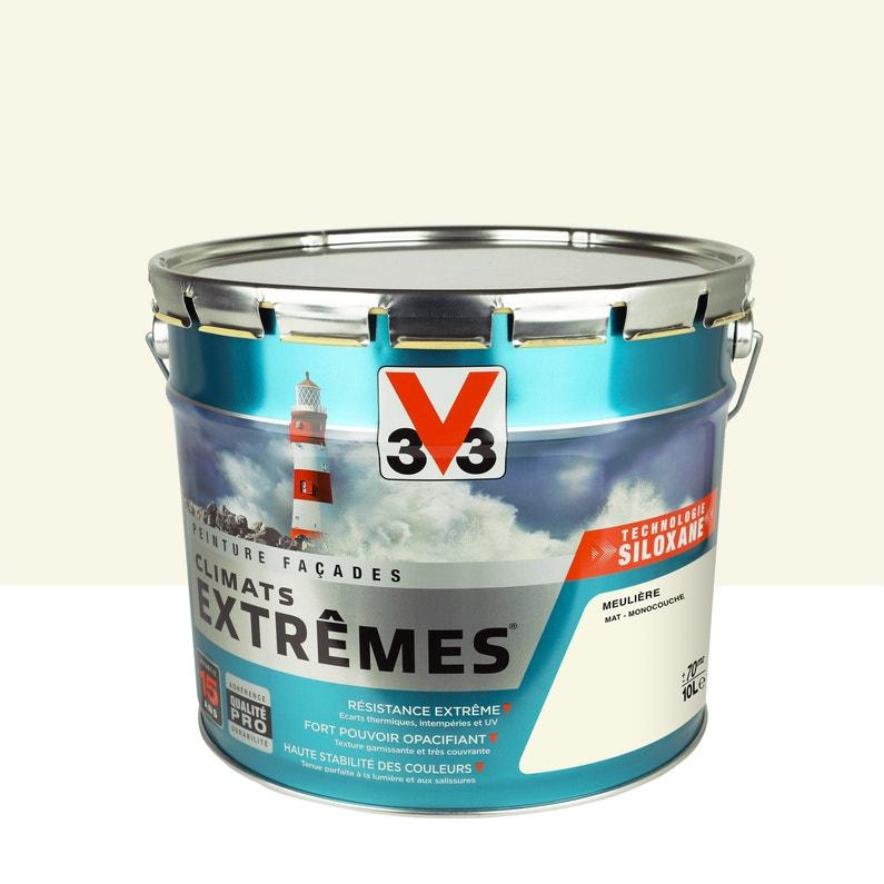 Peinture Façade Climats Extrêmes V33 Meulière 10 L Leroy Merlin