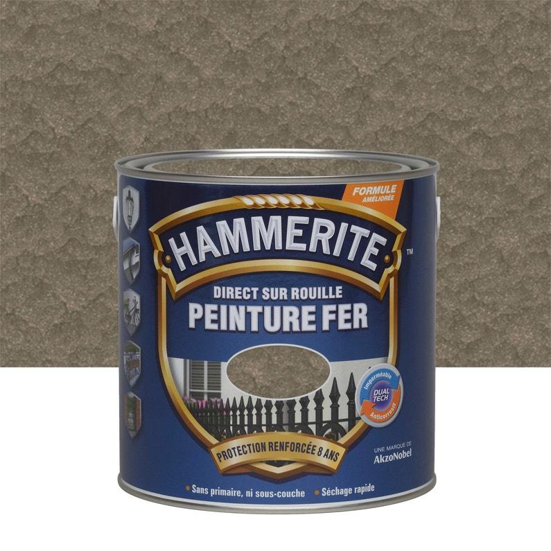 Peinture Fer Extérieur Hammerite Bronze Martelé 2 5 L