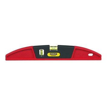 Niveau trapèze STANLEY Composite rouge, L.40 cm