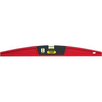 Niveau trapèze STANLEY Composite rouge, L.60 cm