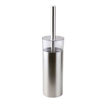 Brosse WC métal Loft, blanc-blanc 0