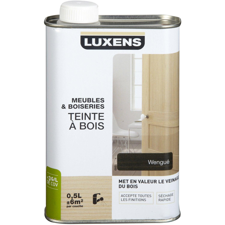 Teinte LUXENS, 0.5 L, Wengé