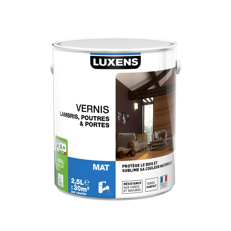 Vernis poutre et lambris luxens 2 5 l incolore leroy - Poutre bois leroy merlin ...