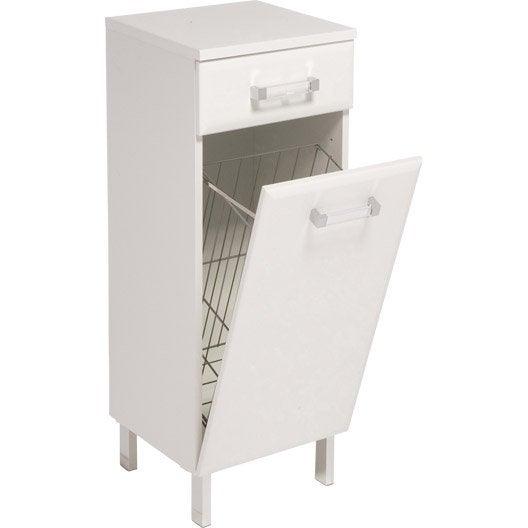 meuble avec panier a linge images. Black Bedroom Furniture Sets. Home Design Ideas