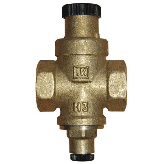 R ducteur de pression de r glage aqua flow b9133 leroy merlin - Reglage reducteur de pression eau ...