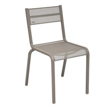 Chaise De Jardin En Aluminium Olron Muscade