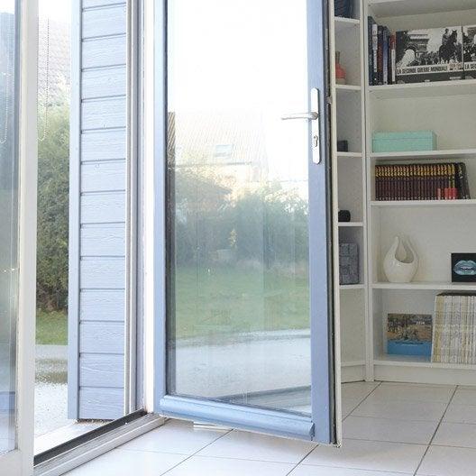 Film pour vitrage porte d 39 entr e fen tre et v randa - Baie vitree pour porte de garage leroy merlin ...