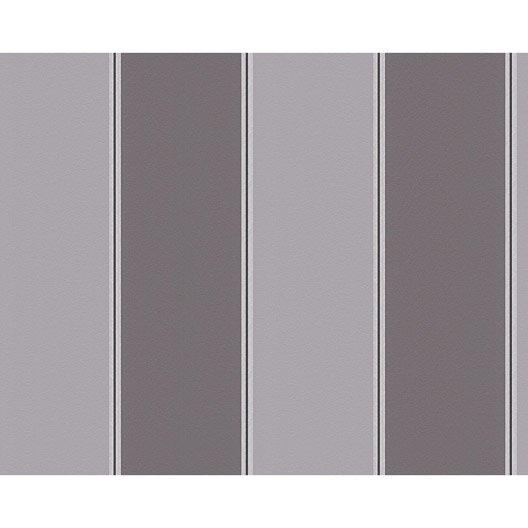 papier peint line taupe gris noir intiss 233 metropolis 2 leroy merlin