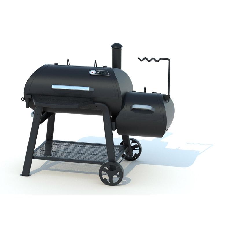 Barbecue Fumoir Au Charbon De Bois Landmann Vinson 500 Noir