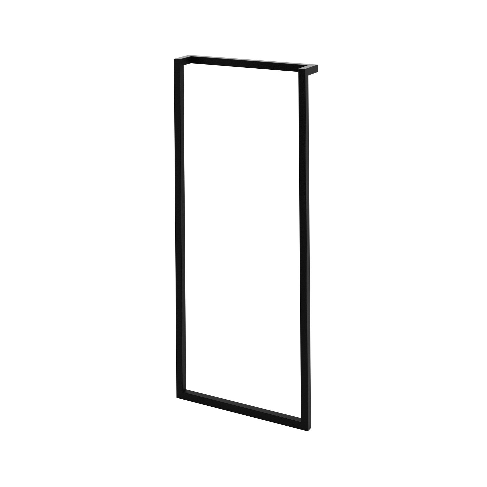 Porte Serviette À Suspendre cadre porte-serviette, l.32cm, noir, remix
