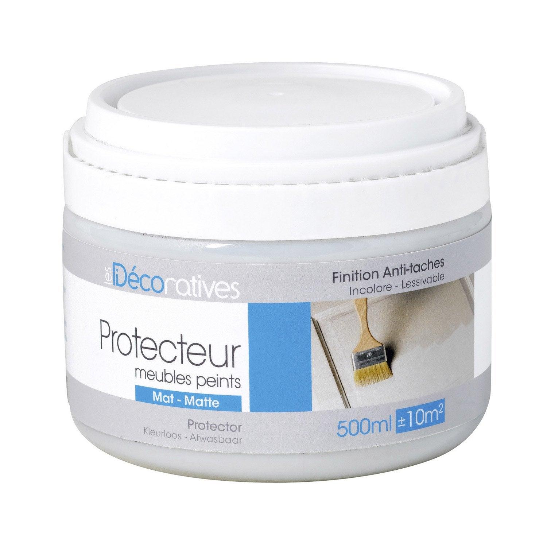 Charming Protecteur, Mat, LES DECORATIVES, Meubles Peints Mat, Incolore Mat 0.5 L