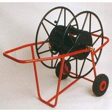 Dévidoir sur roues, nu L.250 m JARDINOR Super pro