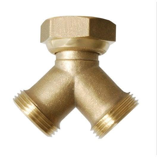 Nez de robinet femelle m le 20 27 et 20 27 mm boutte leroy merlin - Nez de robinet ...
