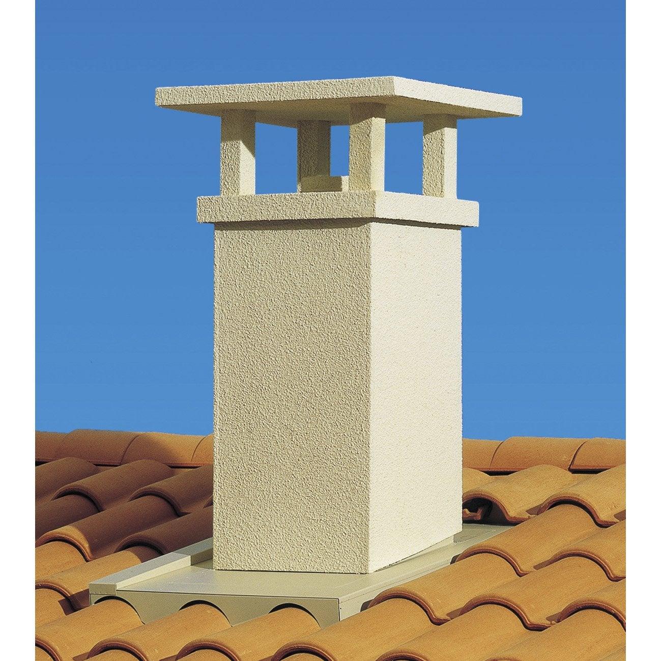 Prix sortie de cheminée en toiture