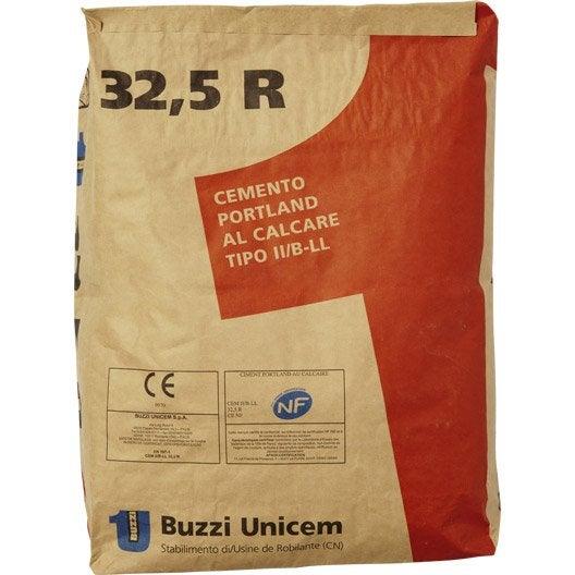 Ciment gris buzzi ce nf 25 kg - Prix sac ciment leroy merlin ...