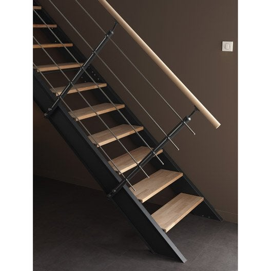 kit rampe pour escalier lisa escapi leroy merlin. Black Bedroom Furniture Sets. Home Design Ideas