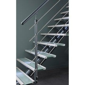 Accessoires d 39 escalier garde corp rambarde c ble escalier leroy merlin - Rampe escalier leroy merlin ...