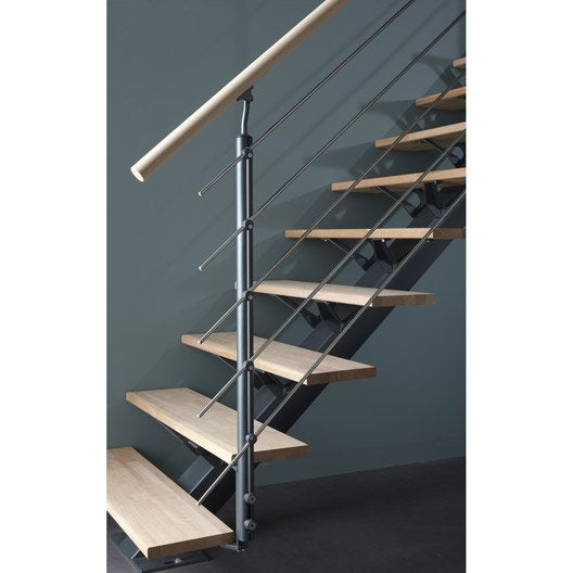 accessoires d 39 escalier garde corp rambarde c ble escalier au meilleur prix leroy merlin. Black Bedroom Furniture Sets. Home Design Ideas