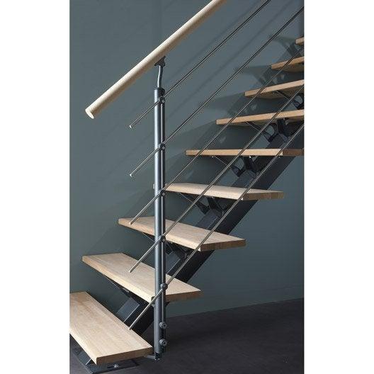 Kit rampe pour escalier mona escapi leroy merlin - Garde corps corde escalier ...