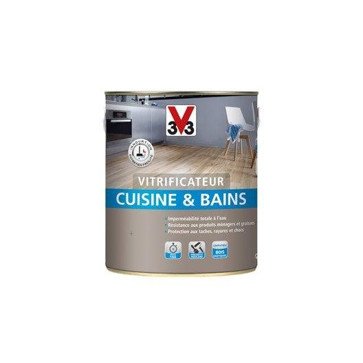 vitrificateur cuisine et bain v33 incolore 2 5 l leroy