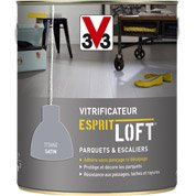 Vitrificateur parquet Esprit loft V33, 2.5 l, blanc coton