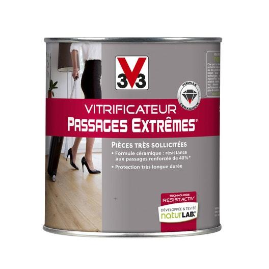 vitrificateur parquet passages extr mes v33 l incolore leroy merlin. Black Bedroom Furniture Sets. Home Design Ideas