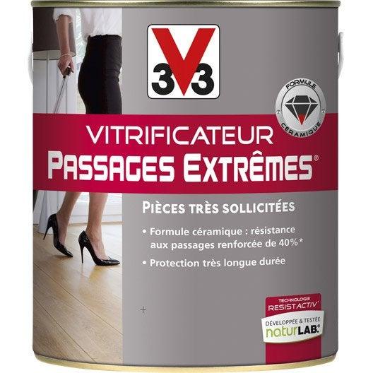 Un établi multifonctions Vitrificateur-parquet-passages-extremes-v33-incolore-mat-2-5l