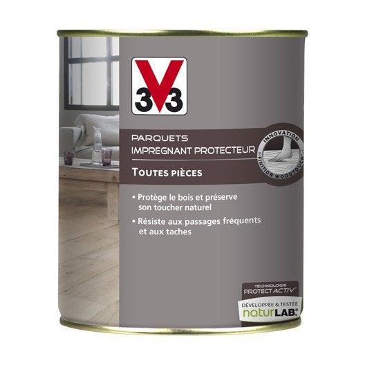 Imprégnant parquet Protect'activ V33, 0.75 l, incolore