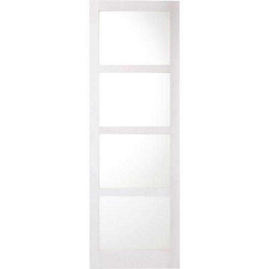 pin magasin bois de pin blanc compose d une double porte coulissante et on pinterest. Black Bedroom Furniture Sets. Home Design Ideas