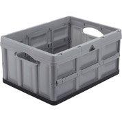 Casier pliable Ursusen plastique, L. 47.5 x P. 35.2 x H. 23.5 cm, 32 L