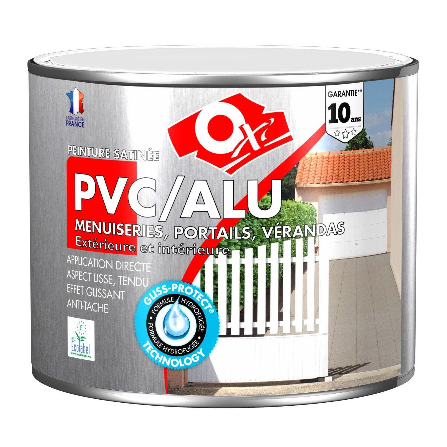 Bon Peinture PVC / Aluminium / Galva Extérieur Oxy OXYTOL, Silice, 1.5 L