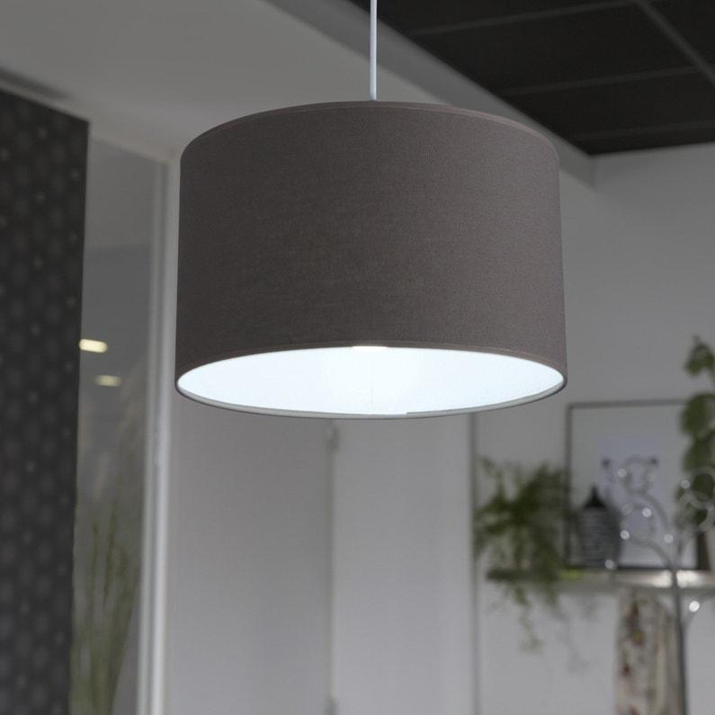 une suspension taupe classique leroy merlin. Black Bedroom Furniture Sets. Home Design Ideas