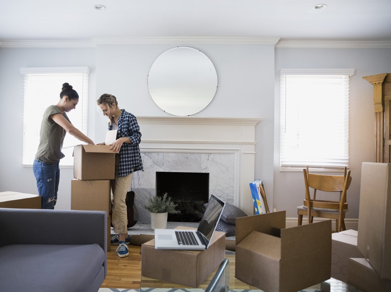 Les travaux d'emménagement