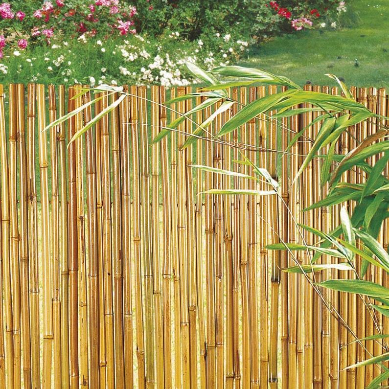 canisse bambou nortene bambooflex cm x cm leroy merlin. Black Bedroom Furniture Sets. Home Design Ideas