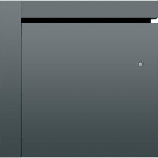 radiateur lectrique connect inertie fonte airelec naomi gris 2000 w leroy merlin. Black Bedroom Furniture Sets. Home Design Ideas