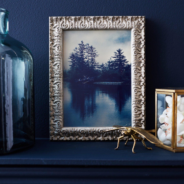 cadre bochet 21 x 29 7 cm argent leroy merlin. Black Bedroom Furniture Sets. Home Design Ideas