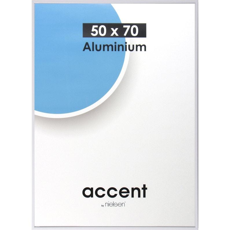 Cadre Accent 50 X 70 Cm Blanc