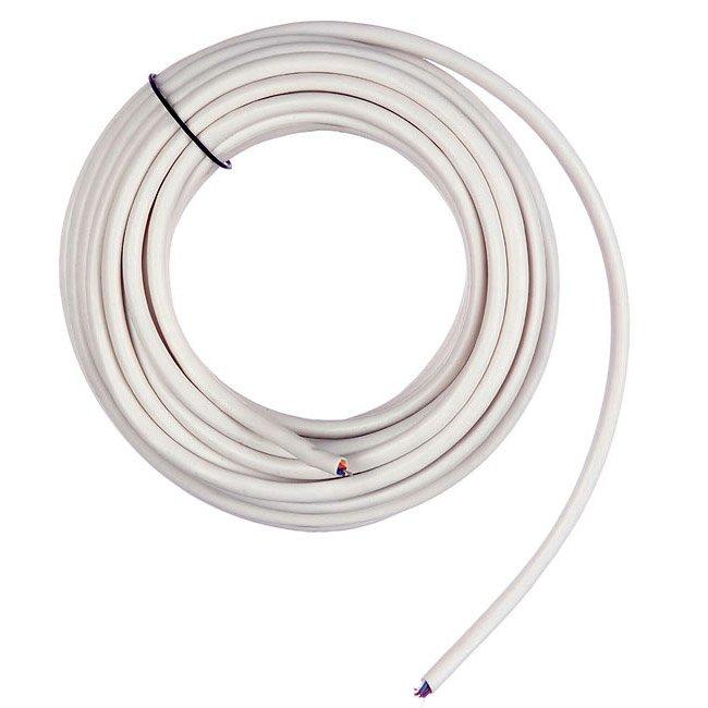 Câble électrique Adsl 298 4p Blanc L 5 M Leroy Merlin