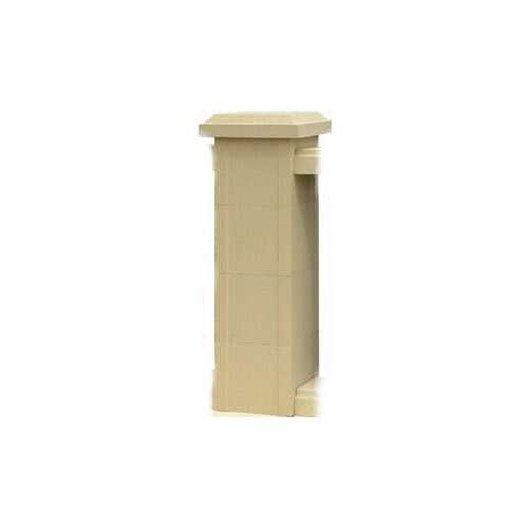Balustre acadia en b ton pierre x x cm leroy merlin - Balustre beton point p ...