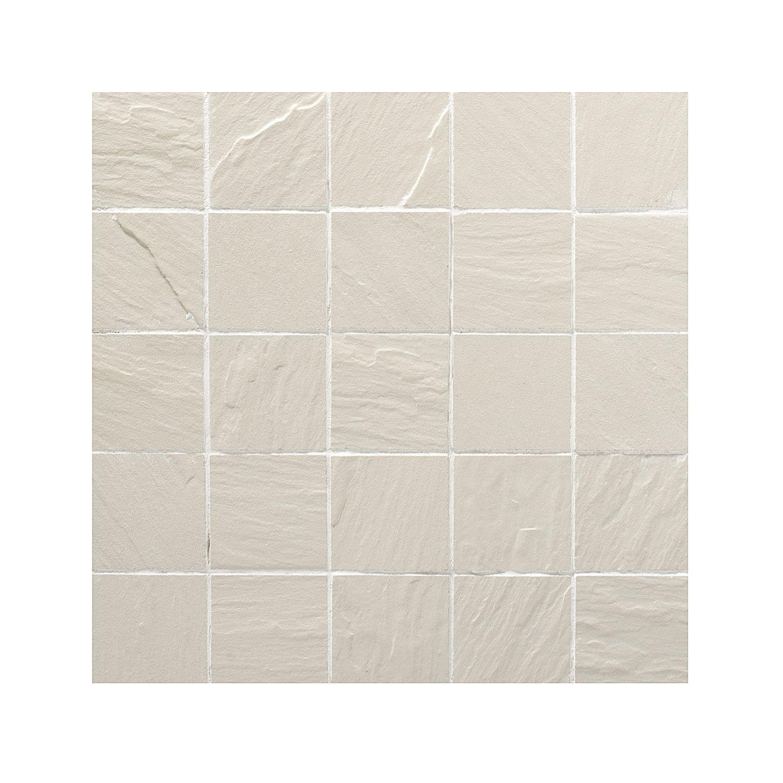 Plaque gr s c rame maill teint dans la masse artens for Carrelage 5x5 blanc