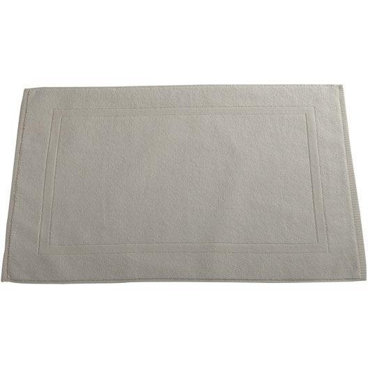 tapis de bain x cm blanc blanc n 0 eponge. Black Bedroom Furniture Sets. Home Design Ideas