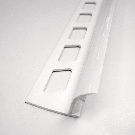 Joint d 39 angle rentrant carrelage mur pvc l m x for Baguette finition carrelage sol