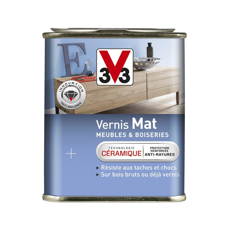 Vernis Meuble Et Objets V33 0 25 L Incolore Leroy Merlin ~ Comment Enlever Le Vernis Sur Du Bois