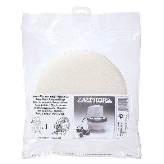 filtre mousse pour aspirateur de cendres amphora leroy. Black Bedroom Furniture Sets. Home Design Ideas