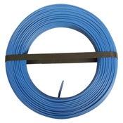 Fil électrique h07vu bleu, 2.5 mm² L.100 m