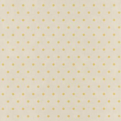 Papier peint intissé BON APPETIT Pois jaune