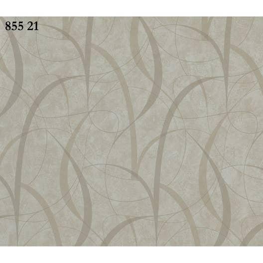 Papier peint spirale blanc, gris clair, gris foncé papier sonetto ...