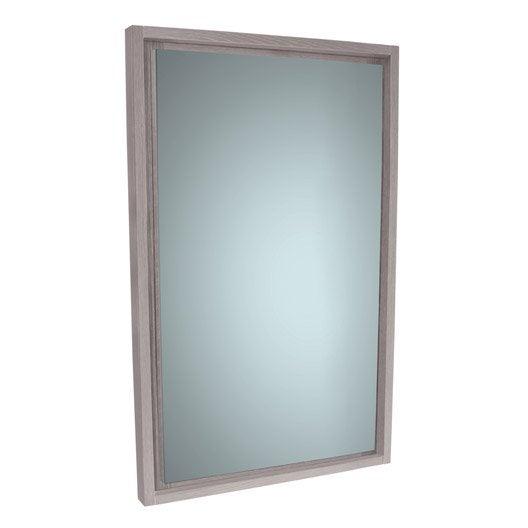 free miroir l cm sensea nordic with miroir led leroy ...
