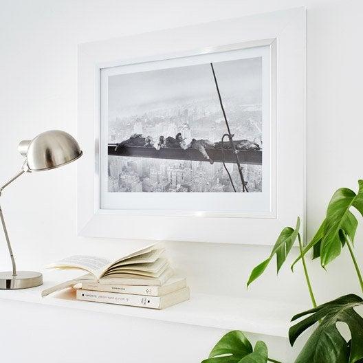 Cadre Pianura, 50 x 70 cm, blanc