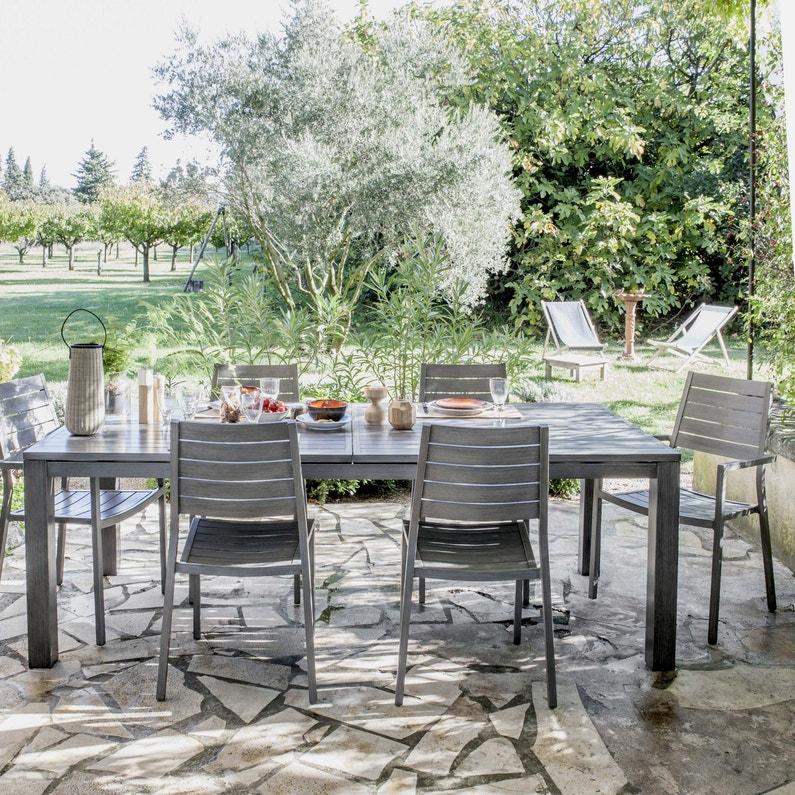 Table De Jardin Aluminium Leroy Merlin 1042033 Salon De ...